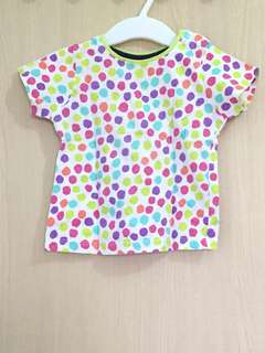 Mothercare t shirt size 9-12m