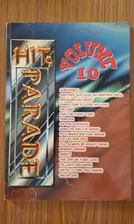 Hit Paradise music score book