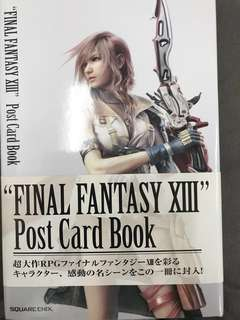 Final Fantasy XIII Post Card Book