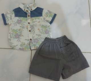Set for 3-6m old