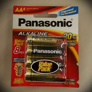 [SALE] Panasonic 8× AA Alkaline Battery #2