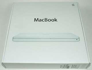 吉盒 (empty box)  2007年 MacBook
