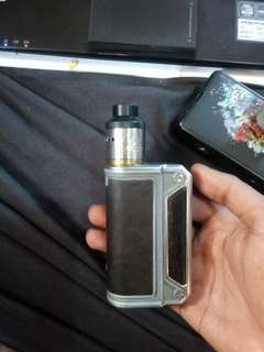 DIJUAL MOD VAPE THERION DNA 75 ALL AUTHENTIC KOMPLIT PLUSPLUS