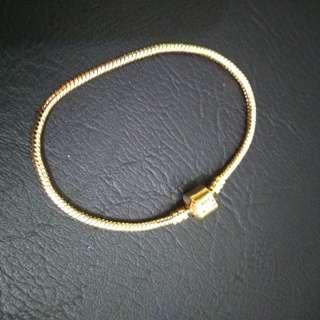 Barrel Lock Bracelet for Pandora