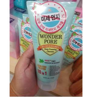 Etude House wonder pore deep foaming cleanser💕 ULTRA PORE SOLUTION 10 in 1