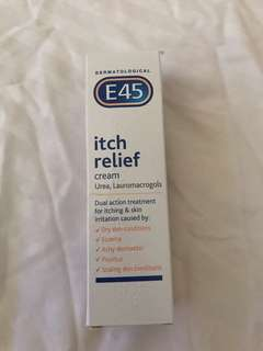E45 itchy relief cream