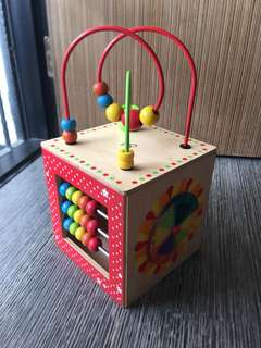 🚚 Wooden Hape Play Activity Cube