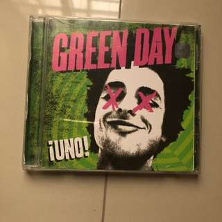 CD UNO GREEN DAY
