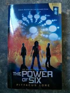 Seri Lorien Legacies - The Power of Six - Pittacus Lore