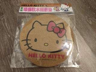 🚚 Hello Kitty環保軟木隔熱墊