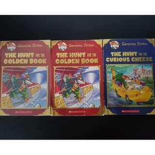 Geronimo Limited edition books