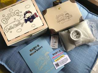 Hello Kitty Baby G Watch (BNIB)