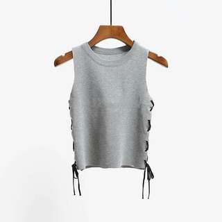 Knitted croptop knit