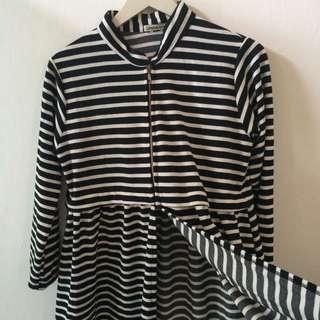 Stripes Monochrome dress