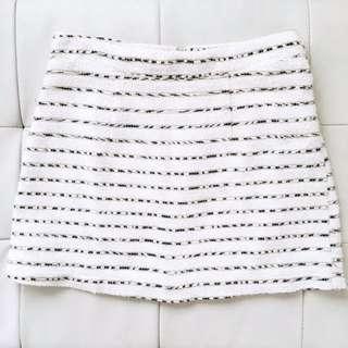 F21 Gold Detailing Skirt