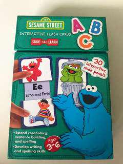 🚚 Sesame Street interactive flash cards