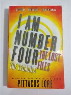 I am Number Four - The Lost Files by Pittacus Lore