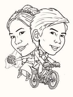 Live caricature services for all occasions
