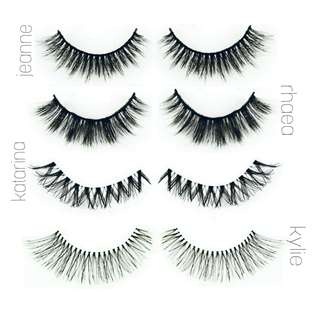✨ READY STOCK ✨Faux Mink/Human Hair Lashes