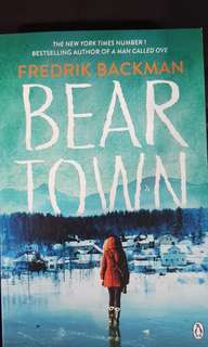 🚚 Bear Town by Fredrik Backman (physical copy)