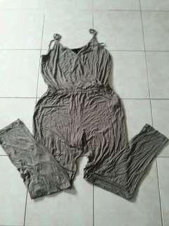 F21 cotton jumpsuit