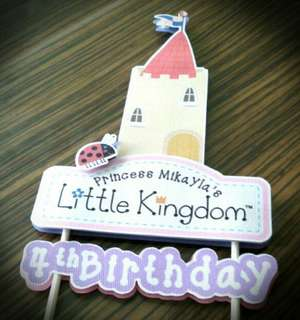 Ben and Holly's Little Kingdom Birthday Cake Cupcake Topper