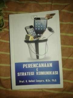 Buku Perencanaan & Strategi Komunikasi - Hafied Cangara