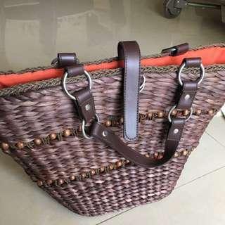 Topshop Bag (straw basket bag)