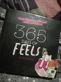 365 days of feels by Noringai with Plastic Cover in very good condition