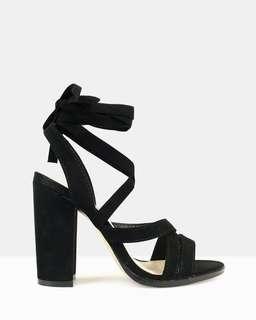 ✨ Black Strappy Heels