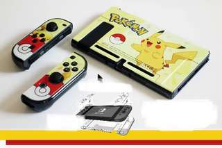 NintendoSwitch POKEMON PIKACHU Hard Casing  !