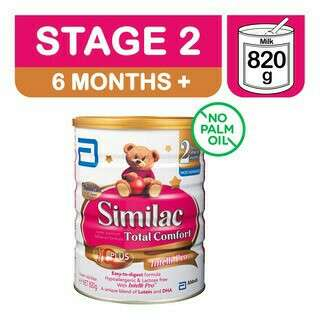 BN Similac Stage 2 total comfort