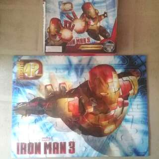 Marvel Iron Man 3 Lenticular Puzzle