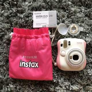 FUJIFILM Pink Instax Mini 25 Instant Camera