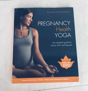 Pregnancy yoga with dvd