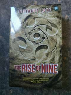 Seri Lorien Legacies - The Rise of Nine - Pittacus Lore