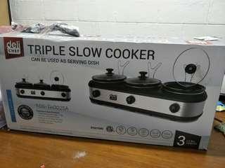 Triple Slow Cooker
