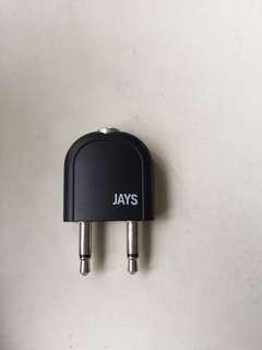 Authentic Jays Stereo splitter