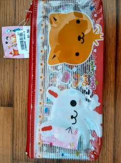 BN Stationery Set with Cute Pencil Case