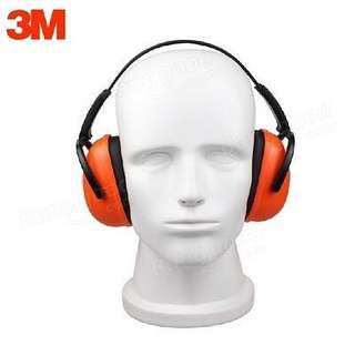 3M earmuff, nose protection