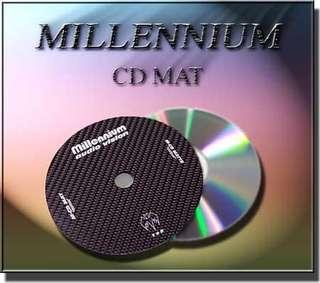 Millennium - Carbon Fiber CD Mat