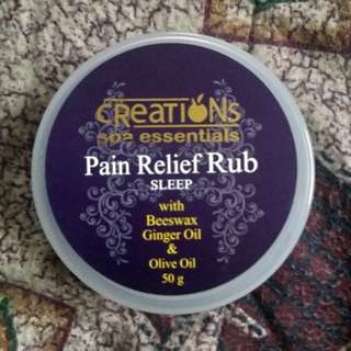 Creations Spa Pain Relief Rub