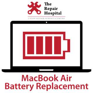 MacBook Air Battery Replacement 60 Min Express Replacement