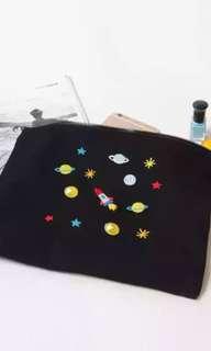 🚚 宇宙刺繡帆布包