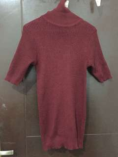 Turtleneck bahan knit