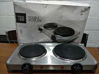 ectric Double Hotplate