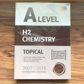 A Level H2 Chemistry Ten Year Series (TYS) 2007-2016