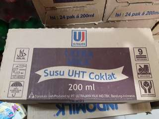 Susu UHT Coklat