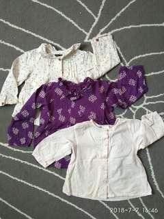 Baby Gap H&M Baby Blouses