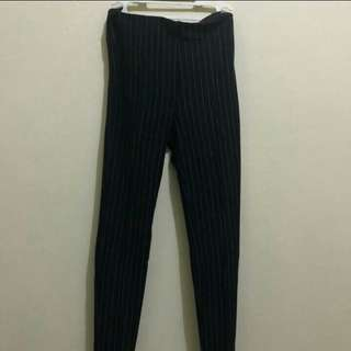 Bershka stripe pants